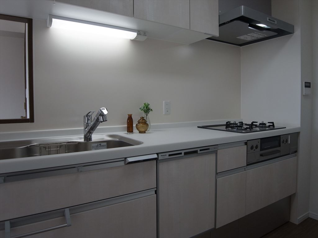 NO89.セミオープンキッチン&クローゼット