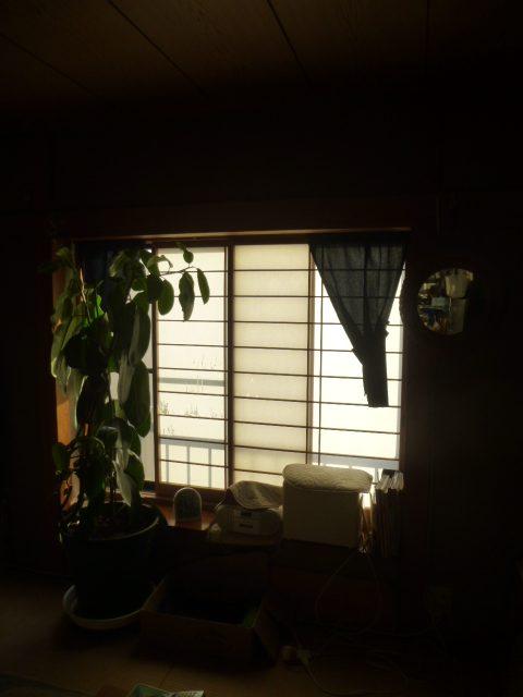 NO87.和室をグリーンな洋室に施工前3