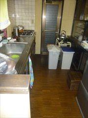 NO93.ビタミンカラーで元気になれるキッチン施工前4
