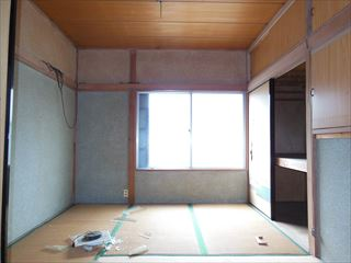 NO107.モノトーンで統一されたシンプルハウス施工前2