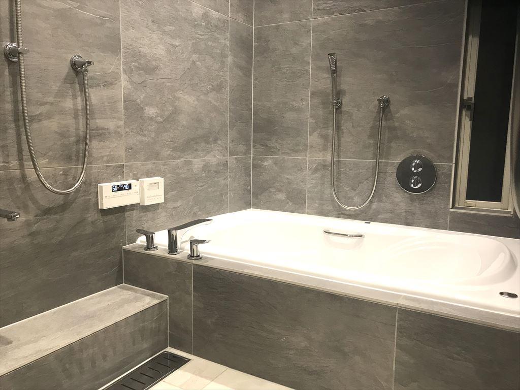 NO125.広いバスタブのあるこだわりの浴室