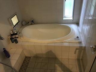 NO125.広いバスタブのあるこだわりの浴室施工前1