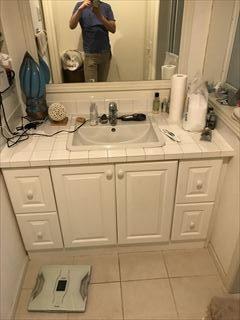 NO125.広いバスタブのあるこだわりの浴室施工前4