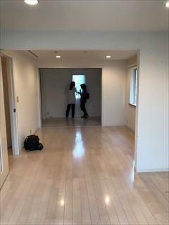 No150. 3世帯住宅を2世帯用に整える施工前3