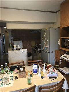NO159.Ⅱ型キッチンで魅せるLDK施工前1
