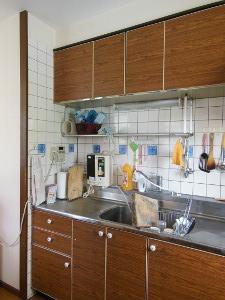 NO8.家族が集うキッチン施工前1