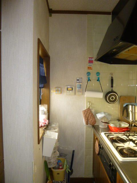 NO87.和室をグリーンな洋室に施工前2