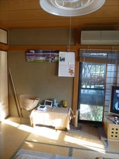 NO87.和室をグリーンな洋室に施工前4