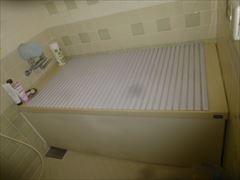 NO90.真っ白な清潔感のあるキッチン施工前4