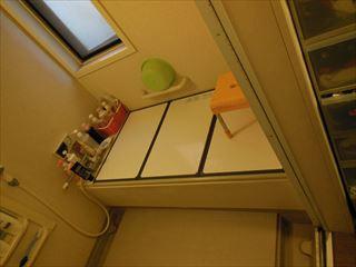 NO96.シンプル模様の上品なキッチン施工前4