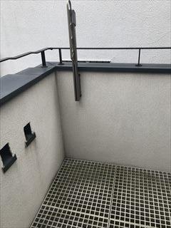 NO124.広さのあるバルコニー施工前2