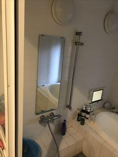 NO125.広いバスタブのあるこだわりの浴室施工前3
