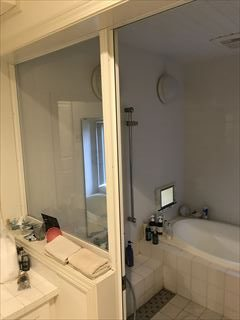 NO125.広いバスタブのあるこだわりの浴室施工前2