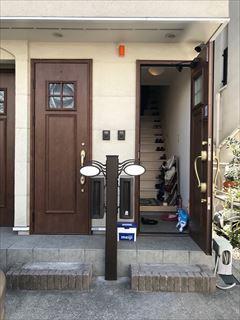 No150. 3世帯住宅を2世帯用に整える施工前1