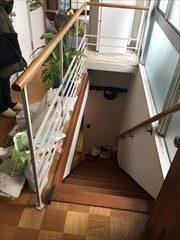 No154.石目調の床で高級感のある空間施工前3